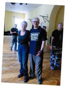 Gemeinsam mit Valentin Vasiliev 2014 in Belgrad, Republik Serbien